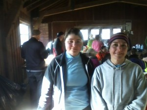 Sammi and I after the run.