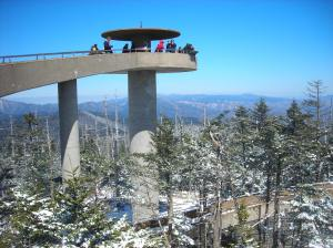Observation tower at Clingmans Dome