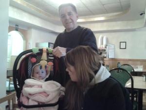 Grandpa, Kyla and Rowan