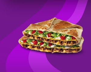 At 254 grams, Taco Bell's crunch wrap supreme weighs more than half a pound.