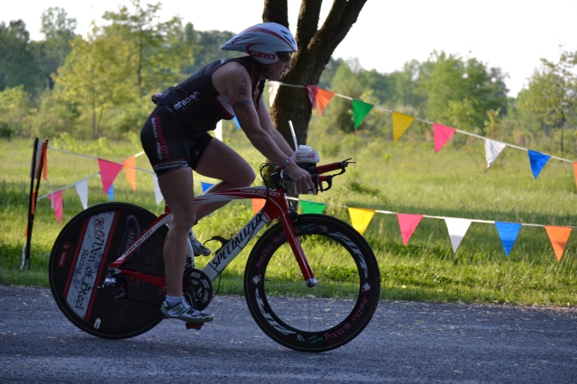 I was thrilled to see that my cycling time had improved by 15 minutes over last year -and then I looked one space up and realized that the woman who placed first in my age group, Diana Schowe, was not only 15 minutes faster than me, but was the third fastest cyclist overall.