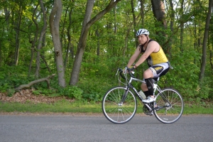 My bike race competitor.