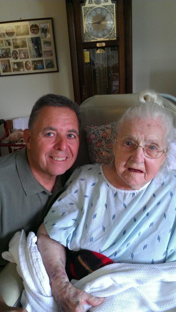 Dad and Grandma
