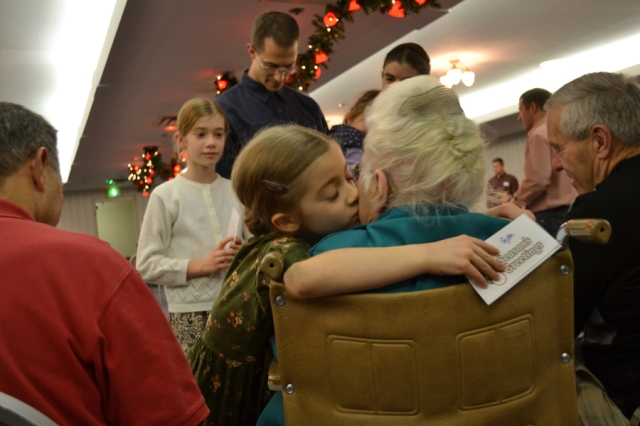 This picture from the 2012 Isch family Christmas party is one of my favorites.