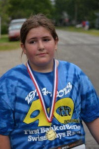 Colleen didn't run as well as she'd hoped, but she had fun. (More photos below).