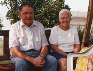 My grandparents on my dad's side, Ervin and Anna Isch.