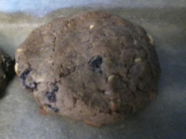Yummy microwave jam in PBJ cookies