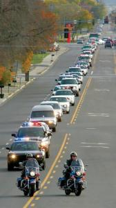 Should you stop your run for a funeral procession? What do you think?