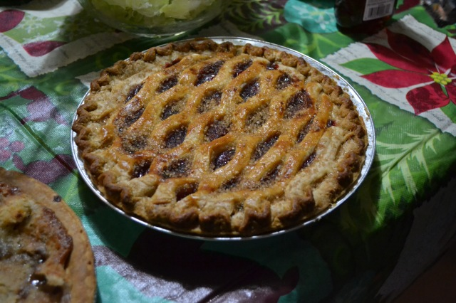 """Aunt Jenny got around the letter 'L' requirement for her cherry pie by making sure it had a """"lattice"""" top."""