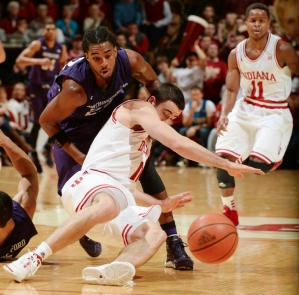 The IU-Northwestern game represents a familiar pattern in sports: following a great win with a stinker of a loss.