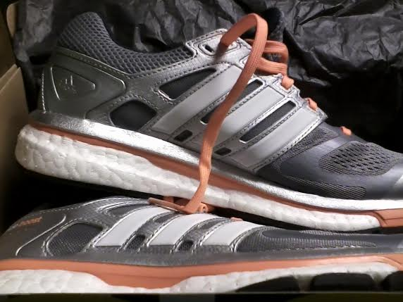 My Adidas Supernova Glide Boost as they looked back on April 15, 2014.