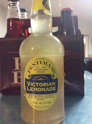 Actually, this Victorian Lemonade -- imported from Britain -- is only 9 ounces. Hard to go overboard on that.