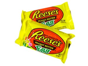 The Reese Eggs in our candy locker would've actually been from Easter 2013, now that I think about it. Still tasted fine, though.