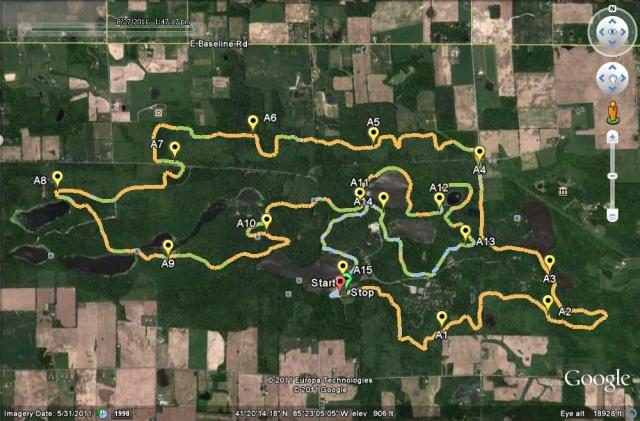 huff-50K-Course-map