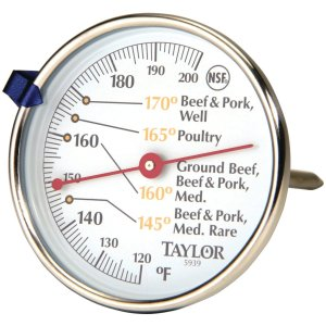 This is a meat thermometer. It costs less than $5. If you're going to try this recipe, make sure you use one!