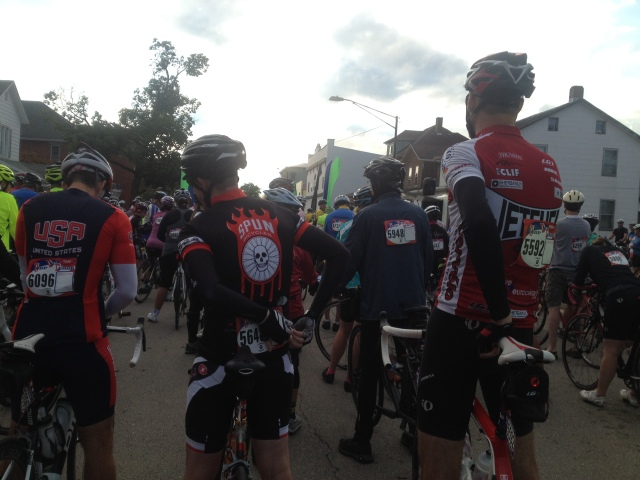 It was awesome to check out all the different bikes and bike jerseys at the Tour de Donut.