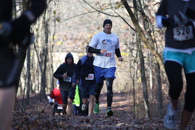 Wish I'd gotten a picture from the race, but I guess nobody else did, either: This one I got off the web site just to help set the scene is from way back in 2011. Oh well, I guess that's part of what contributes to the ultra casual feel of the event.