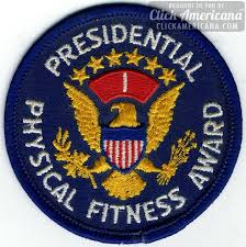 presidents physical fitness award
